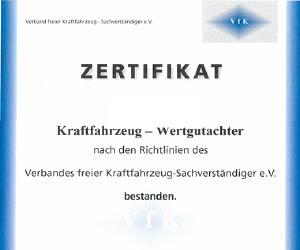 Zertifikaten